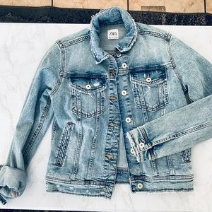 ZARA Jean Denim Jacket